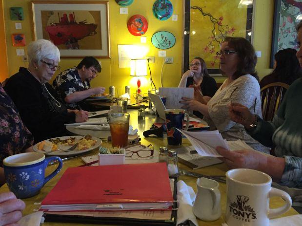 Coffee and writers