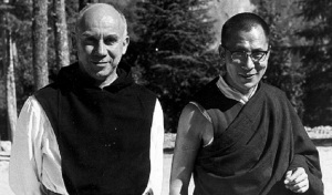 Thomas Merton with Dalai Lama