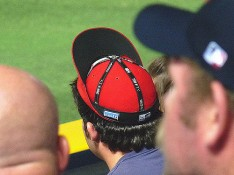 Rally cap (inside out, upside down)